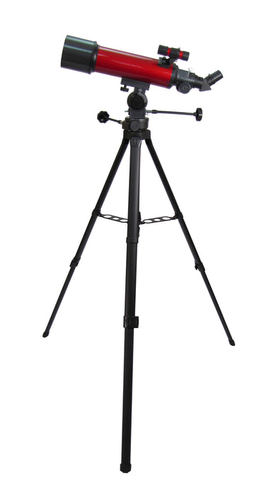 Carson 45-100x 114mm Red Planet Reflector Telescope W/ Smartphone Adapter
