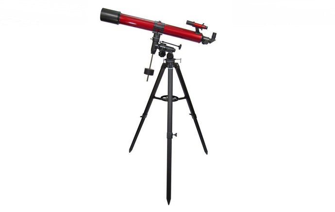 Carson 50-100x 90mm RedPlanet Refractor Telescope W/ Smartphone Adapter