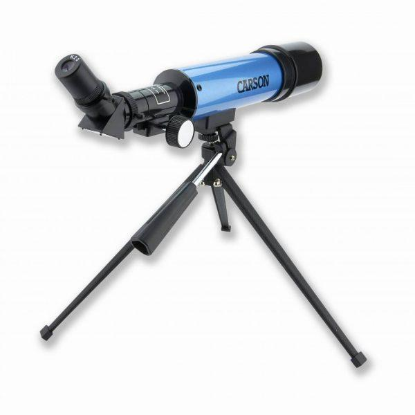 Carson 50mm Aim Refractor Telescope With Table-Top Tripod