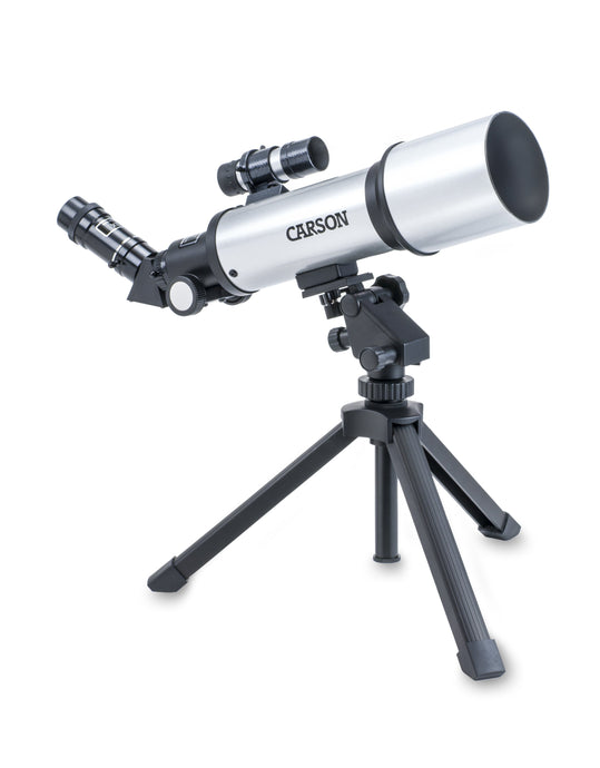 Carson 70mm Short Tube SkyChaser Refractor Telescope