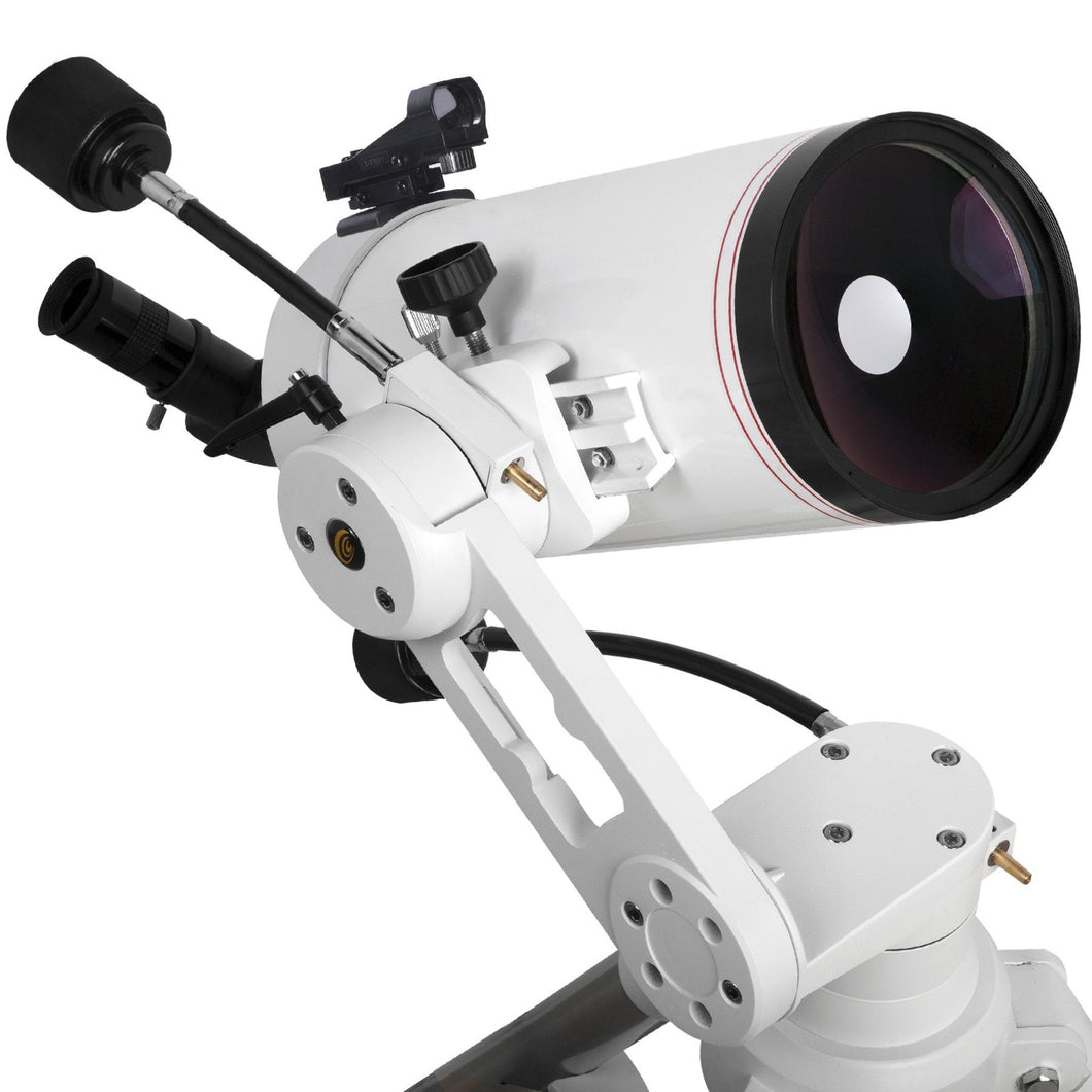 Explore FirstLight 5-inch Maksutov-Cassegrain On The TwiLight I Adjustable Alt-Azimuth Mount With Accessories