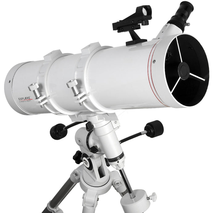 Explore FirstLight 5-inch Newtonian On The Nano Equatorial Mount With Accessories