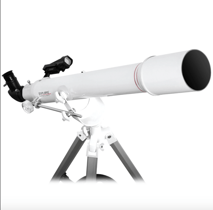Explore FirstLight 70mm Refractor On Yoke-Style Alt-Azimuth Mount With Accessories