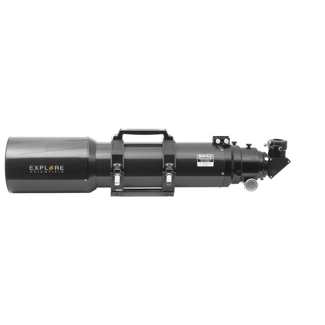 Explore Scientific 140mm F/6.5 Air-Spaced Triplet ED APO Refractor In Carbon Fiber With 3