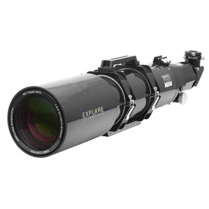 "Explore Scientific 140mm F/6.5 Air-Spaced Triplet ED APO Refractor In Carbon Fiber With 3"" HEX Focuser"