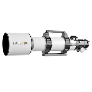 Explore Scientific ED102-FCD100 Series 102mm Air-Spaced Triplet Apochromat Refractor Telescope - Optical Tube Assembly With Accessories