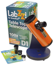 Load image into Gallery viewer, Levenhuk LabZZ D1 Telescope