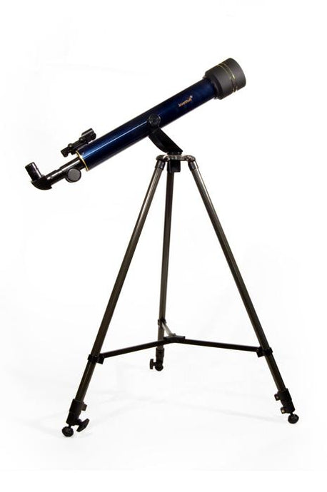 Levenhuk Strike 60 NG Refractor Telescope SKU 65553 in Blue