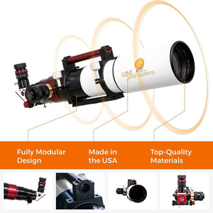 Lunt 80mm Universal Day & Night Telescope