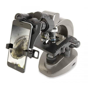 Microscopes - Carson 40x-1600x Microscope With Smartphone Adapter - MS-160SP