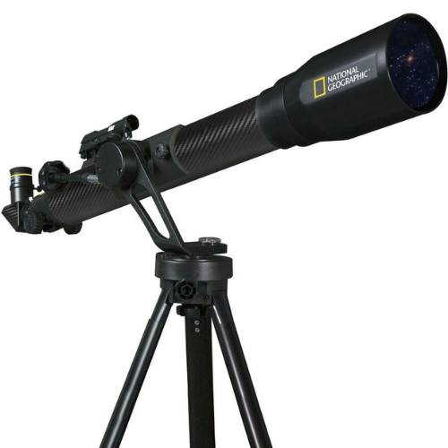 National Geographic CF700SM Black Carbon Fiber Telescope W/SP Adapter