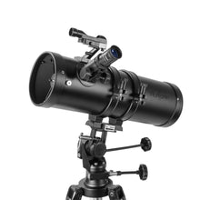 Load image into Gallery viewer, Telescopes - Explore One Aurora II Flat Black 114mm Slow Motion AZ Mount Telescope - 88-20114
