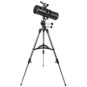 Telescopes - Explore One Aurora II Flat Black 114mm Slow Motion AZ Mount Telescope - 88-20114