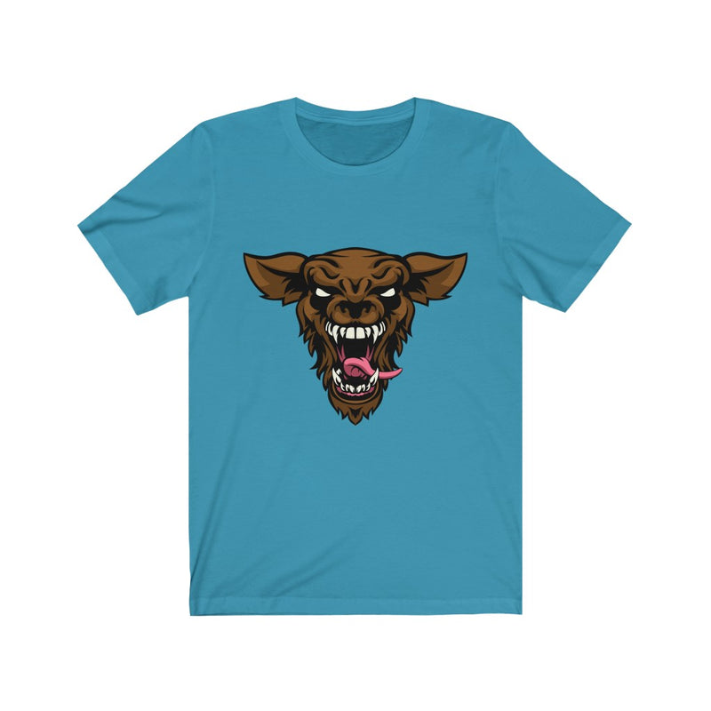 Halloween Scary Face design Tshirt - Unisex Jersey Short Sleeve Tee