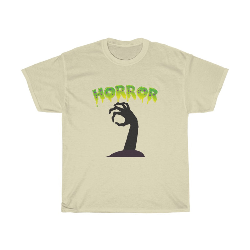 Halloween Design with Scary Hand Tshirts - Unisex Heavy Cotton Tee