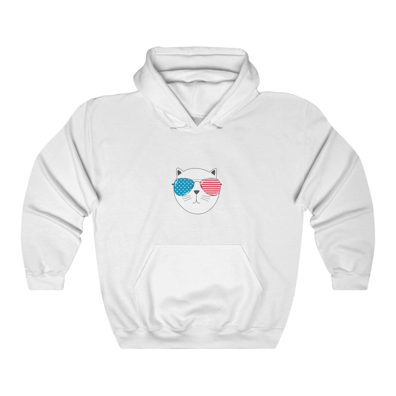 Cool Cat - Unisex Heavy Blend™ Hooded Sweatshirt