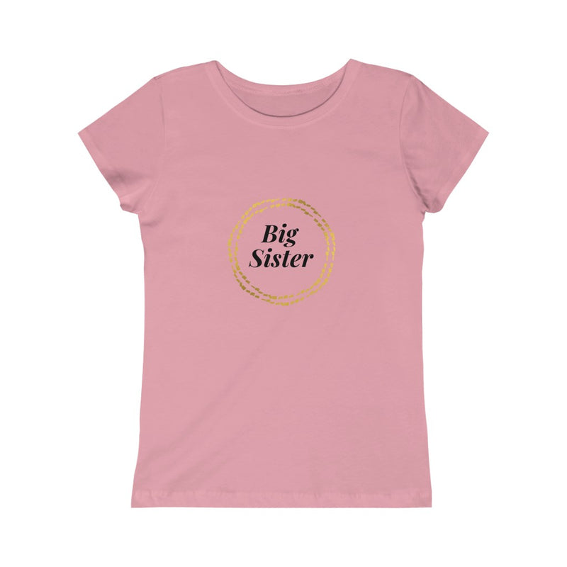 Big Sister Girls Princess Tee