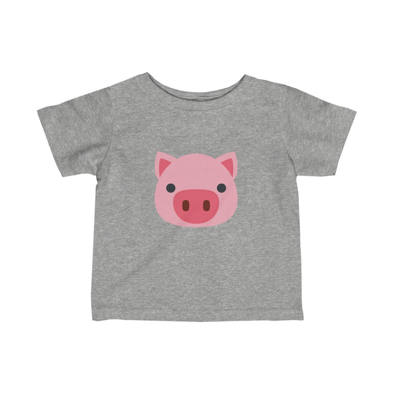 Pink P - Infant Fine Jersey Tee