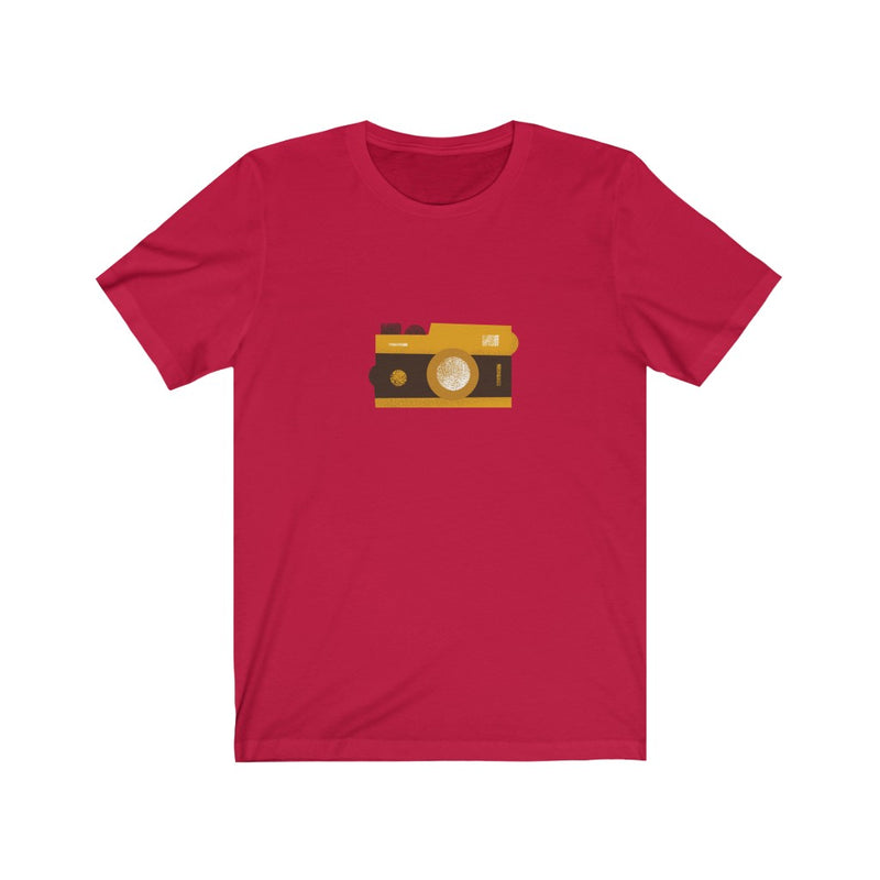 Camera - Unisex Jersey Short Sleeve Tee