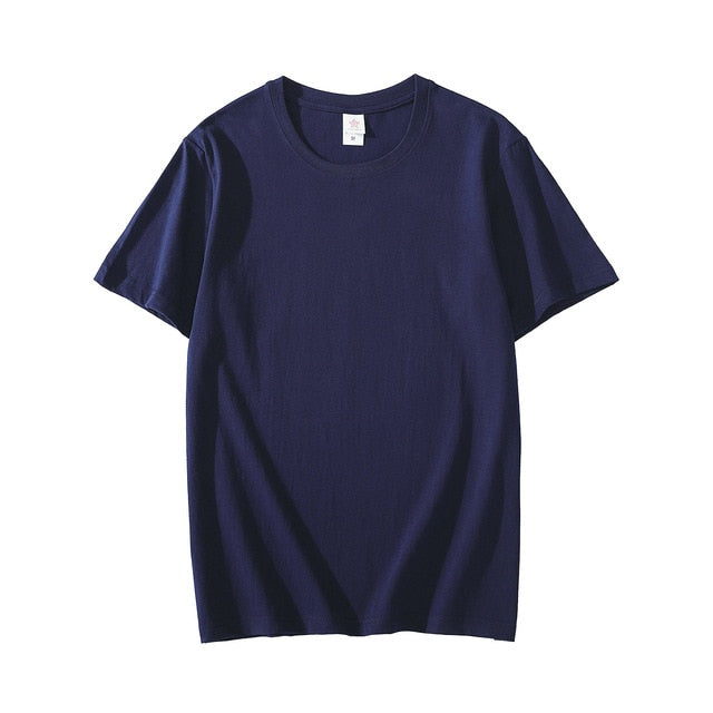T shirt  - Short Sleeve Pure Color Men T-shirts