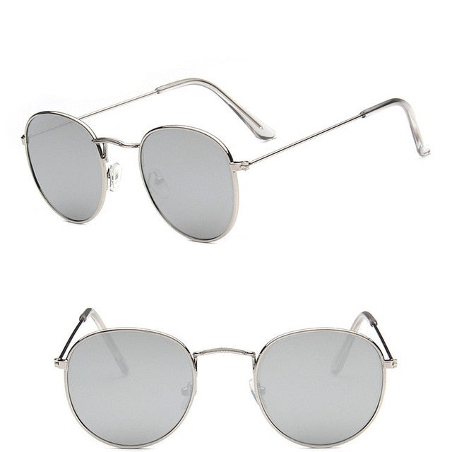 Sunglasses- Retro Men Round Vintage Glasses