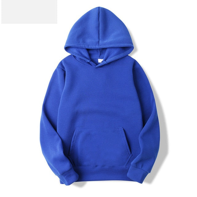 Hoodies - Hoodies Sweatshirts Leisure Pullover for Male Solid Color
