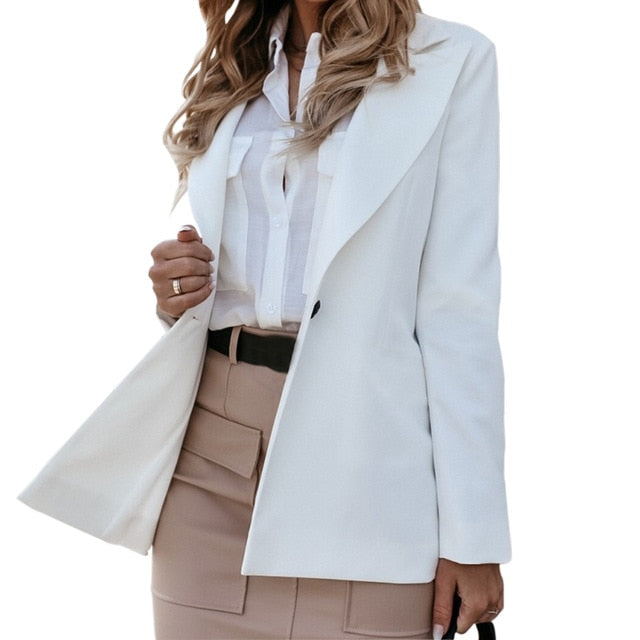 Blazer - Jacket Women Casual Suit Coat Office