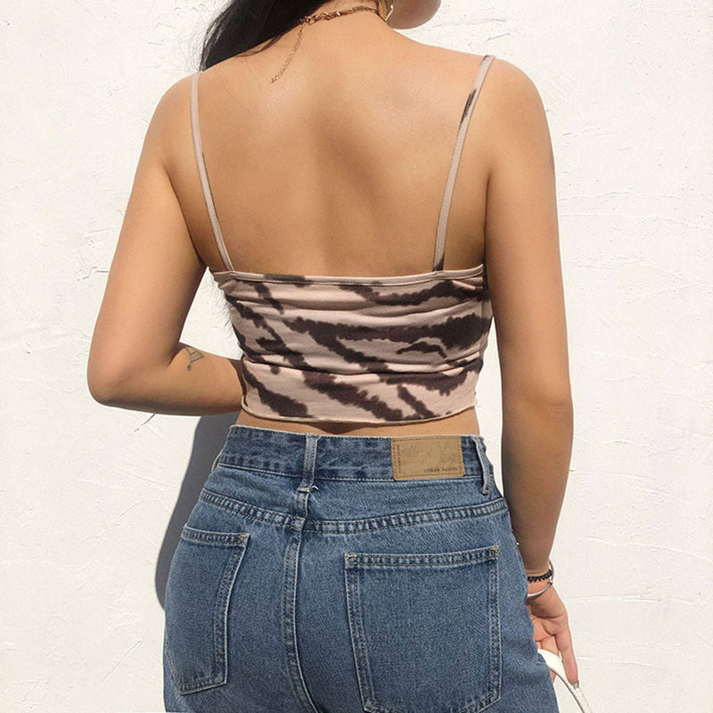 Tank Top - Lace Sexy Skinny Women Backless Tank Tops
