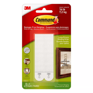 Z 3M Command Strips - 4 large pairs