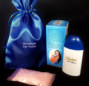 Himalayan Salt Puffer Inhaler with Extras