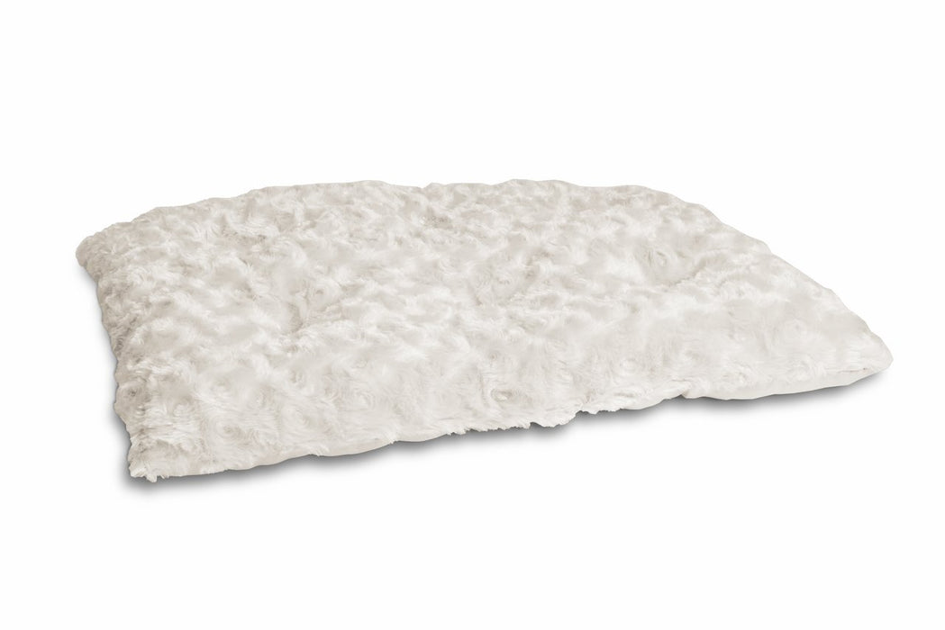 Ultra Soft Curly Fur Plush Pillow Pet Bed