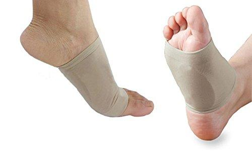 Plantar Fasciitis Arch Support Compression Foot Sleeves with Gel Cushions