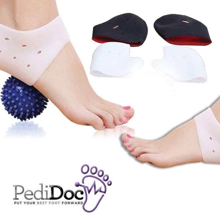Plantar Fasciitis Gel Heel Support Set
