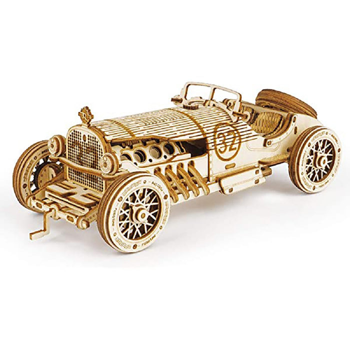 DIY 3D Puzzle- V8 Grand Prix Car 220pc
