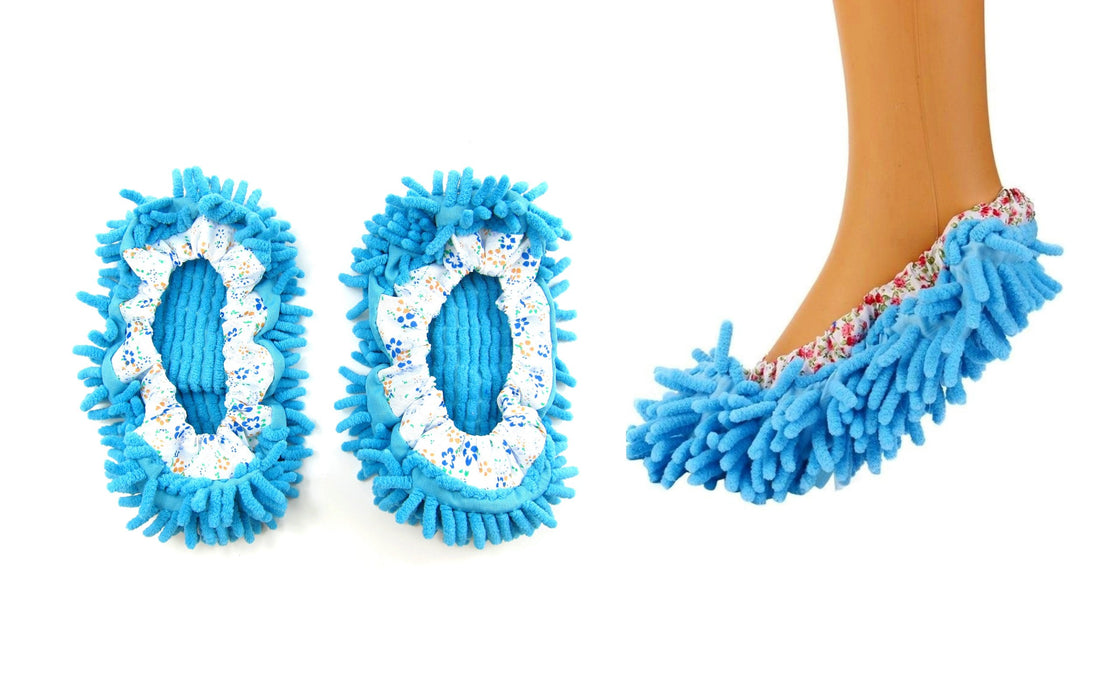 Microfiber Washable Mop Slippers