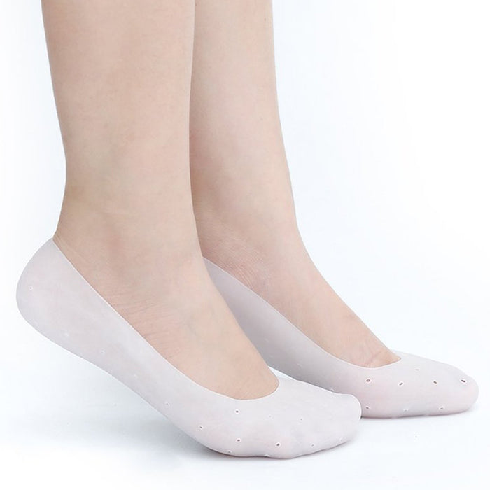 Soft Gel Silicone Plantar Fasciitis Foot Heel Arch Pain Pressure Relief Cushioning Insole Sleeve