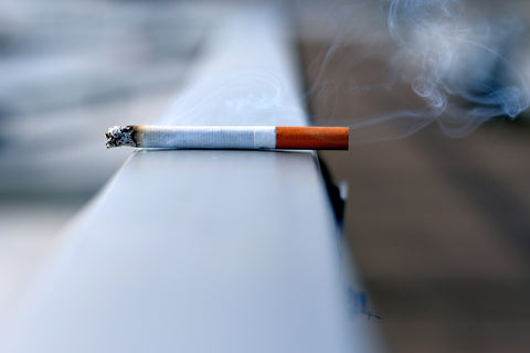 Secondhand smoke is full of toxic chemicals that can cause bedroom odor.