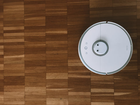 Dusting and vacuuming regularly can help to improve indoor air quality.