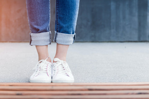 Taking off your shoes before entering your home can improve indoor air quality.
