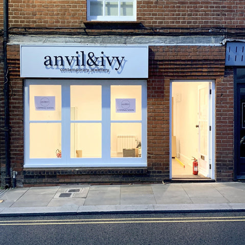 anvil and ivy shop opening