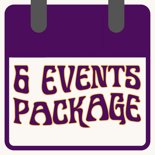 6 Event Package - The Bearded Gypsy Vintage Co.