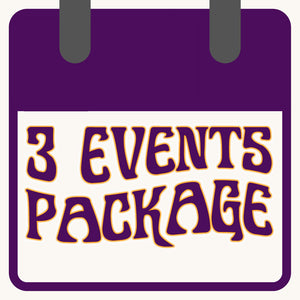 3 Event Package - The Bearded Gypsy Vintage Co.