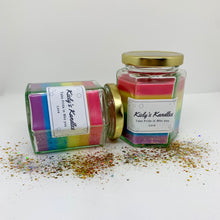Load image into Gallery viewer, Kielys Kandles Take Pride in Who You Love Candle - The Bearded Gypsy Vintage Co.