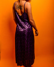 Load image into Gallery viewer, Purple Lace Night Dress - The Bearded Gypsy Vintage Co.