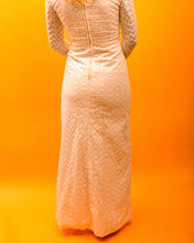 Load image into Gallery viewer, True 60's Mod Wedding Dress - The Bearded Gypsy Vintage Co.