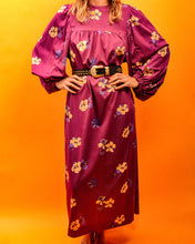 Load image into Gallery viewer, 70's Bell Sleeve Maxi Dress - The Bearded Gypsy Vintage Co.