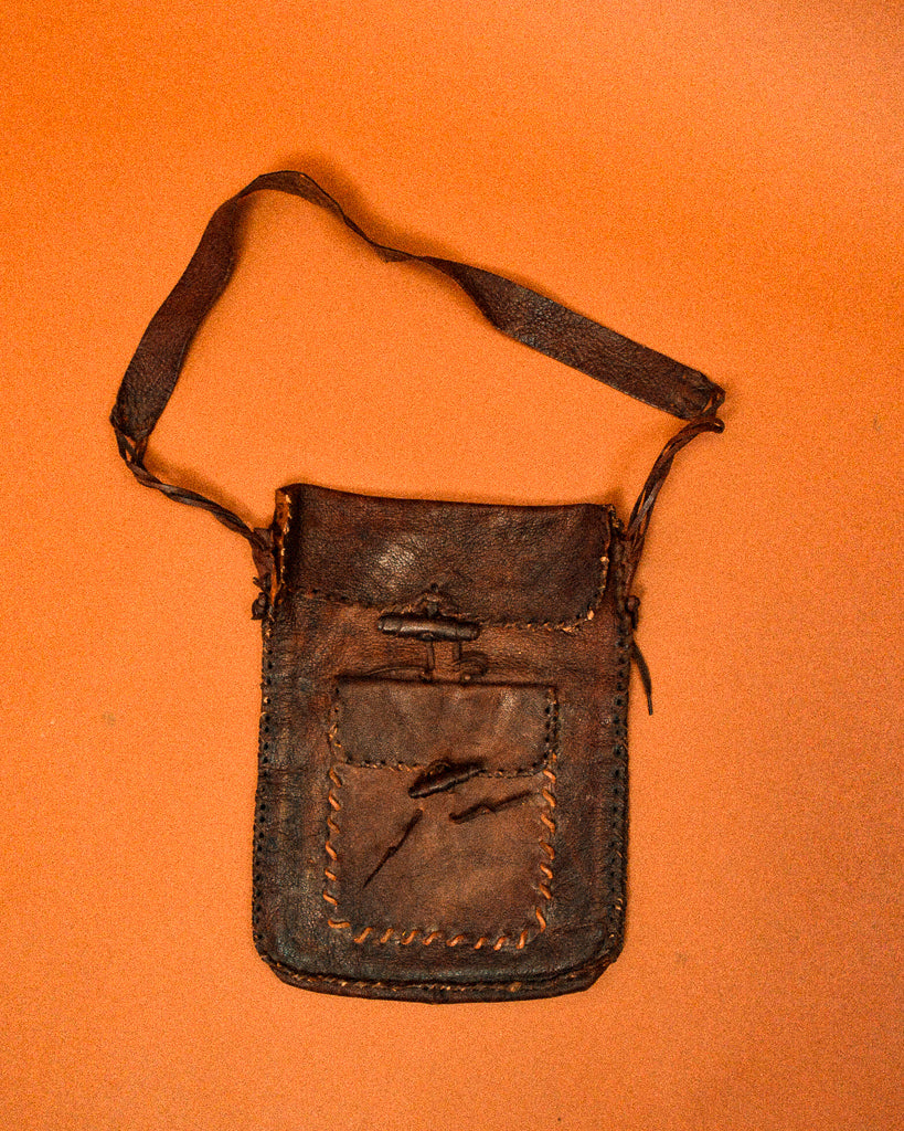 Handmade Leather Satchel - The Bearded Gypsy Vintage Co.
