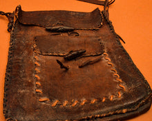 Load image into Gallery viewer, Handmade Leather Satchel - The Bearded Gypsy Vintage Co.