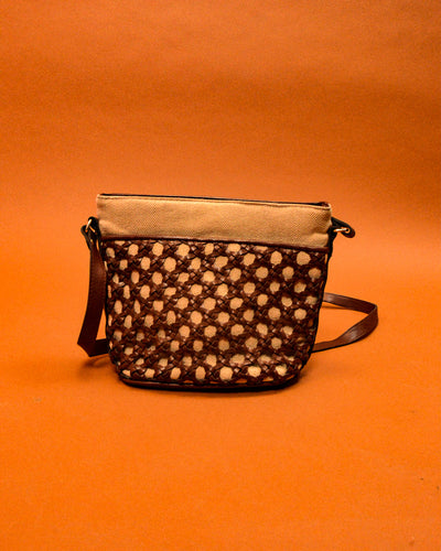 Woven Shoulder Bag - The Bearded Gypsy Vintage Co.