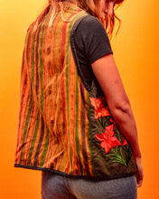 Load image into Gallery viewer, Embroided Reversible Waistcoat - The Bearded Gypsy Vintage Co.